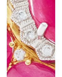 Nina Runsdorf - Pink One Of A Kind Ruby And Diamond Ring - Lyst