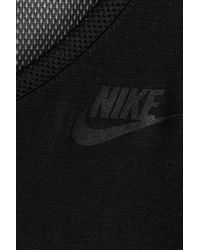 Nike - Long Sleeved Top With Mesh - Black - Lyst