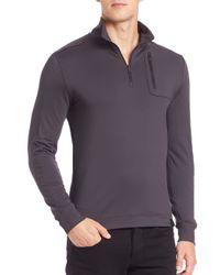 Victorinox | Black Moraine Tech Quarter-zip Pullover for Men | Lyst