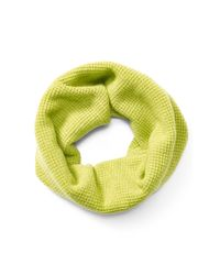 Pink Pony   Green Waffle-knit Wool-blend Snood   Lyst