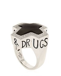 Stephen Webster - Black Highwayman Ring - Lyst