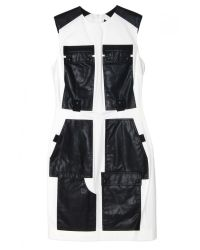 Alexander Wang - Black Cargo Dress With Webbing Detail - Lyst