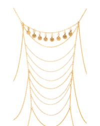 Vanessa Mooney | Metallic Antique Charm Body Chain | Lyst