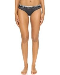 Calvin Klein - Black Magnetic Force Bikini Panties - Lyst