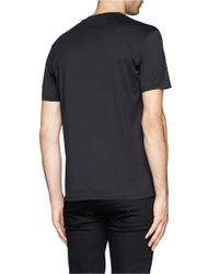 Givenchy - Black '17 Lucifero' Jersey T-shirt for Men - Lyst