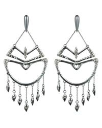 Alexis Bittar - Metallic Kinetic Ruthenium Encrusted Chandelier Earring You Might Also Like - Lyst