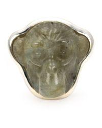 Vivienne Westwood | Metallic 'ryan' Ring | Lyst