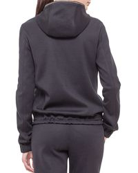 Akris - Black Cashmere-blend Reversible Hooded Jacket - Lyst
