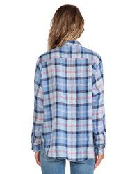 CP Shades - Blue Tennessee Plaid Shirt - Lyst