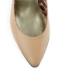 Anne Klein | Natural Rylie Leather Pumps | Lyst