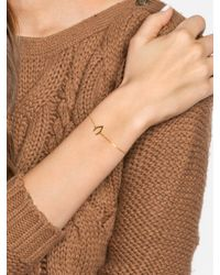 BaubleBar - Metallic Wishbone Bracelet - Lyst