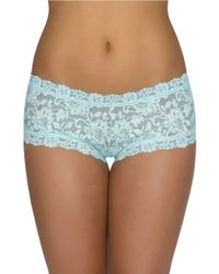 Hanky Panky | Blue Lace Hipster Panties | Lyst