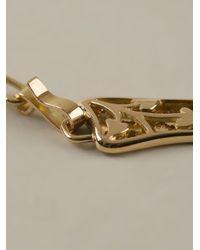 Natasha Zinko | Metallic Musket Guns Hand Bracelet | Lyst