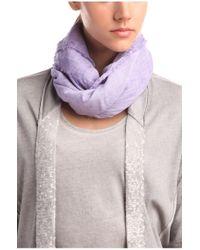 BOSS Orange | Purple Cotton Scarf 'nubasica 1' | Lyst
