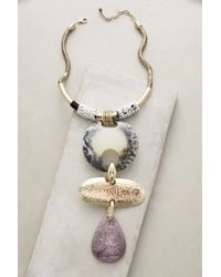 Anthropologie - Metallic Jumeaux Necklace - Lyst