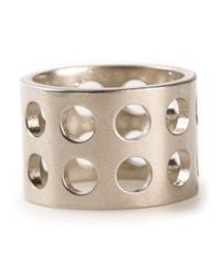 Kelly Wearstler | Metallic Perforated Ring | Lyst
