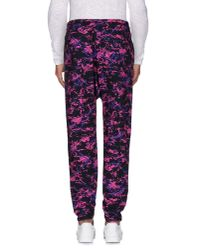 Love Moschino - Purple Casual Trouser for Men - Lyst