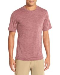 Patagonia - Pink Base Layer Merino Wool Blend Performance T-shirt for Men - Lyst