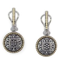Effy | Metallic Balissima 18 Kt. Yellow Gold And Sterling Silver Drop Earrings | Lyst