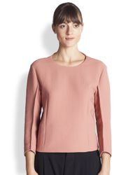 Marni | Pink Armure Top | Lyst