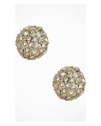 Express | Metallic Fireball Stud Earrings | Lyst