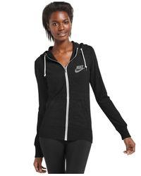 Nike | Black Long-sleeve Gym Vintage Hoodie | Lyst