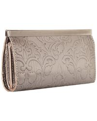 Patricia Nash - Metallic Folklore Tooled Cauchy Wallet - Lyst