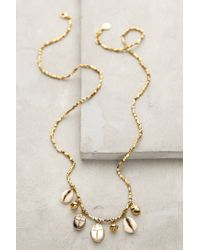 Anthropologie | Metallic Nautical Charm Necklace | Lyst