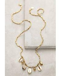 Anthropologie | Metallic Nautical Charm Necklace | Lyst