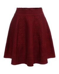 Alexander McQueen - Purple Full Circle Mini Skirt - Lyst