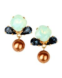 Vickisarge | Blue Earrings | Lyst