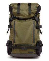 Lexdray Green 'mont Blanc' Ballistic Nylon Backpack for men
