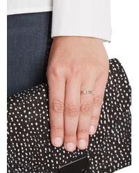 Maria Black - Pink Caro Diamond Rose Gold-plated Ring - Lyst