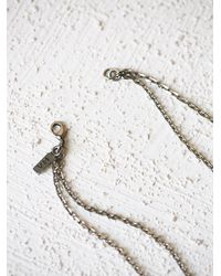 Free People - Metallic Vanessa Mooney Jewelry Womens The Blaze Necklace - Lyst