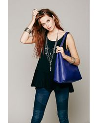 Free People | Natural Womens Slouchy Vegan Tote | Lyst