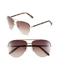 Original Penguin | Metallic 'the Charley' 59mm Sunglasses for Men | Lyst