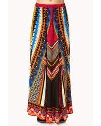 Forever 21 | Multicolor Free Spirit Maxi Skirt | Lyst