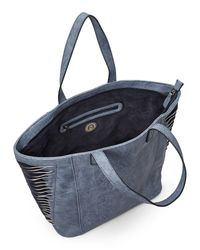 Nila Anthony - Blue Drawn To You Tote - Lyst