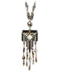 Lulu Frost | Metallic Silver-plated Citadel Long Pendant Necklace | Lyst