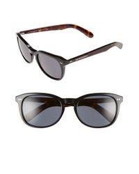 Burberry | Black 55mm Retro Sunglasses | Lyst