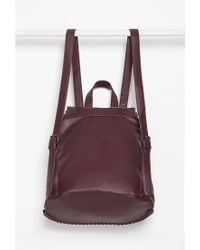 Forever 21 - Purple Faux Leather Chained Backpack - Lyst