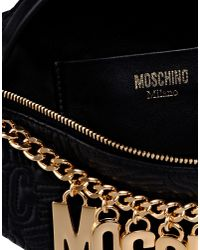 Moschino | Black Fanny Pack | Lyst