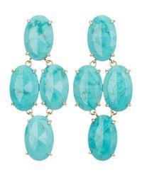 Kendra Scott | Blue Steph Turquoise Earrings | Lyst