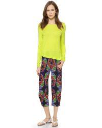Zero + Maria Cornejo   Yellow Long Sleeve Luma Top - Neon   Lyst