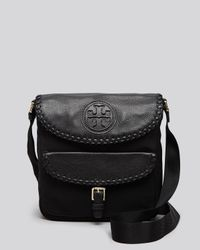 Tory Burch - Black Messenger Marion Nylon - Lyst