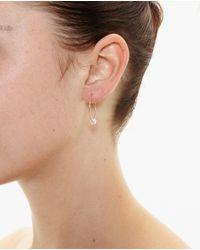 Asherali Knopfer | Metallic Louka Gold Hoop Earring | Lyst
