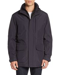 Tumi | Blue Id Lock Hooded Jacket for Men | Lyst