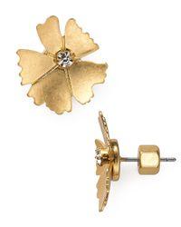 Marc By Marc Jacobs | Metallic Mini Pinwheel Stud Earrings | Lyst