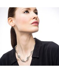 Lulu Frost | Metallic Swift Necklace | Lyst
