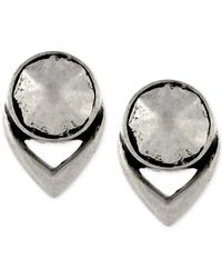 Vince Camuto | Metallic Silver-tone Stud Earrings | Lyst
